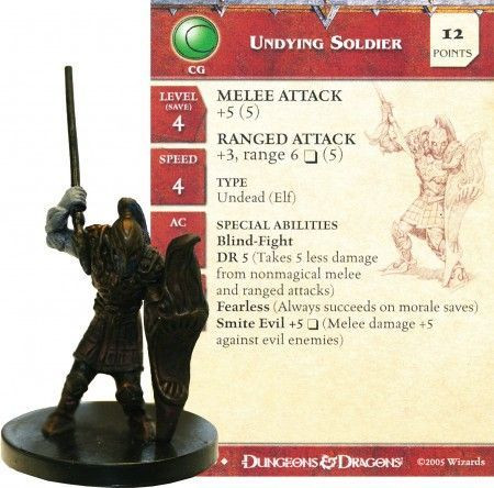 Image article Undying Soldier #24 Deathknell
