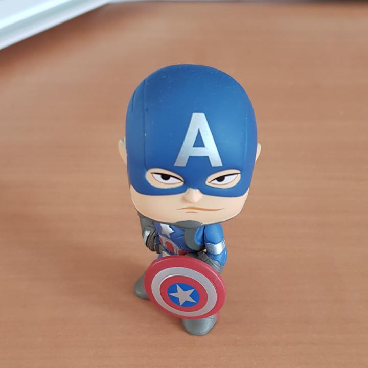 Image article Figurine capitaine America