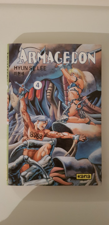 Image article Armagedon tome 4