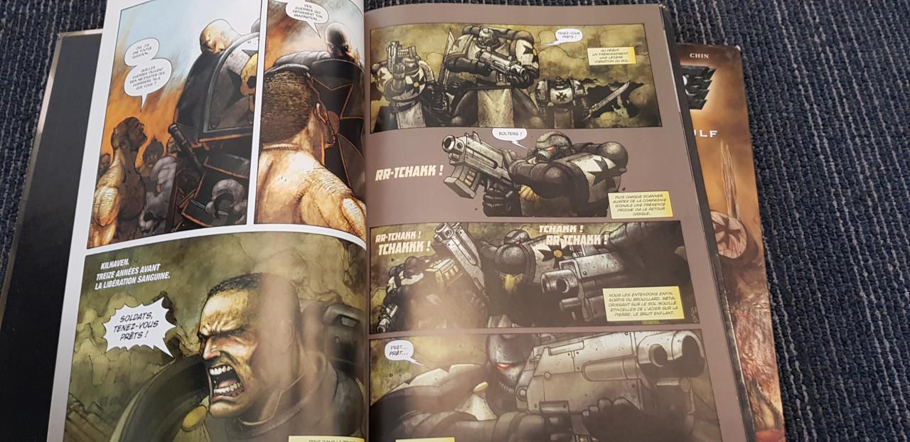 Image article 📖Lot 2 Albums BD/Comic Soleil - Warhammer 40,000