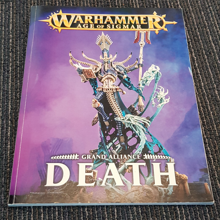 Image article Warhammer Age of Sigmar Grand Alliance Death