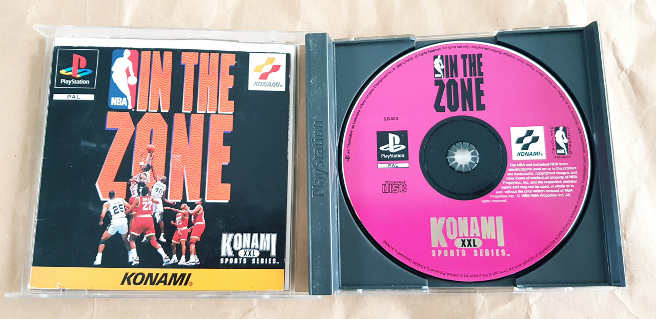 Image article NBA in the zone ps1