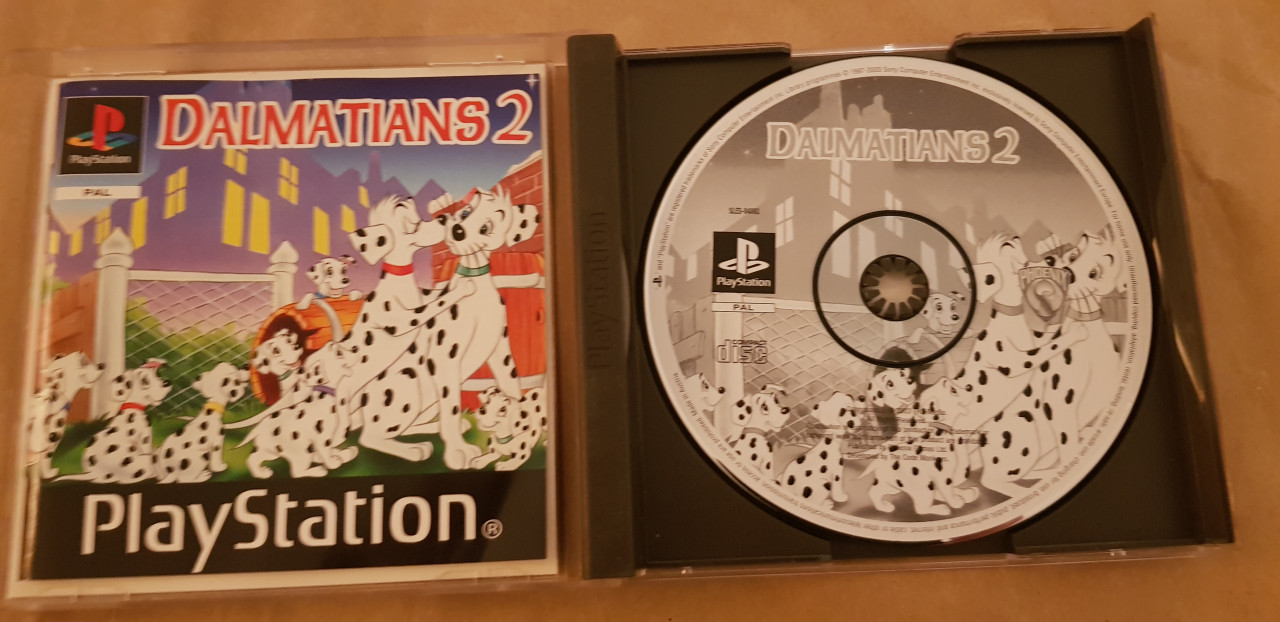 Image article Dalmations 2 ps1
