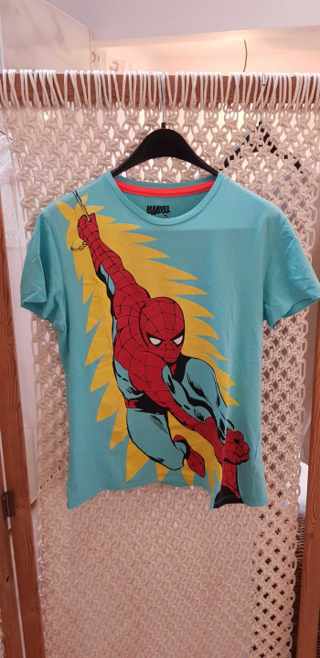 Image article t-shirt Spiderman tailler M