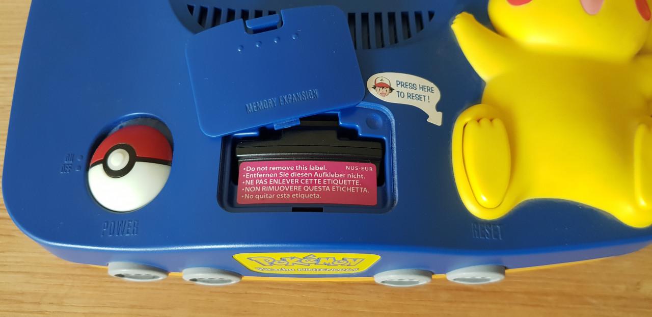 Image article Nintendo 64 Pokemon édition