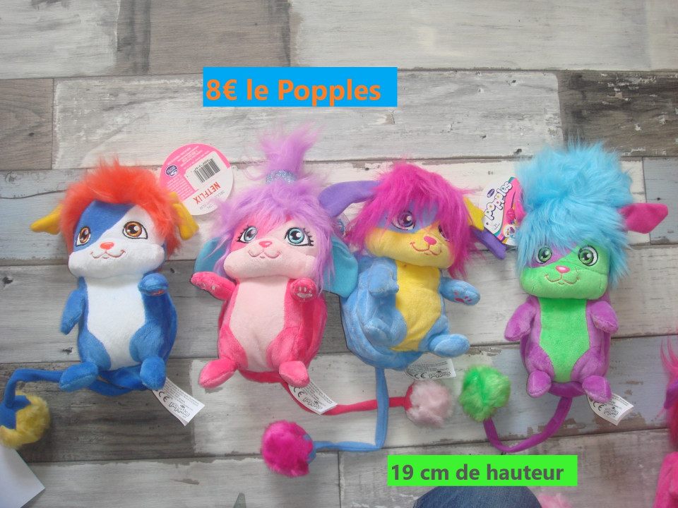 Image article Peluche Popples