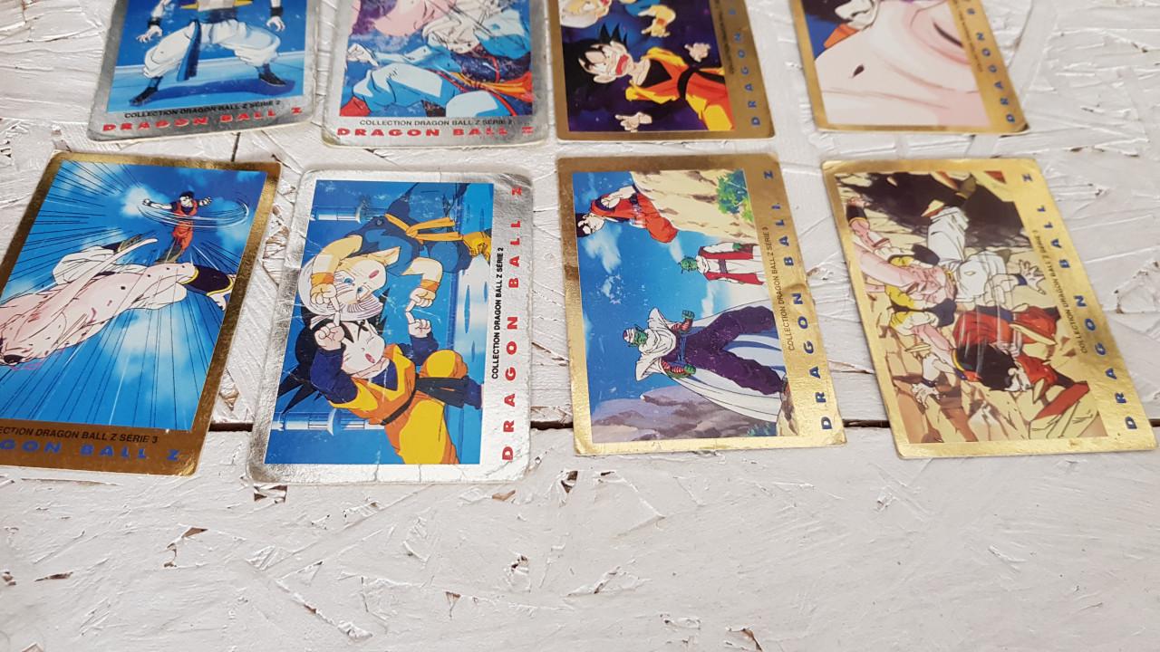 Image article Lot de 12 cartes Dragon ball