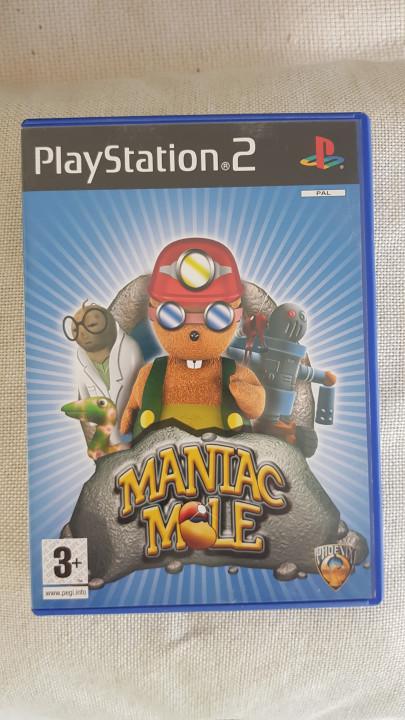 Image article Maniac mole ps2