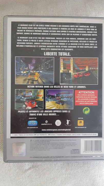 Image article Midnight club ps2