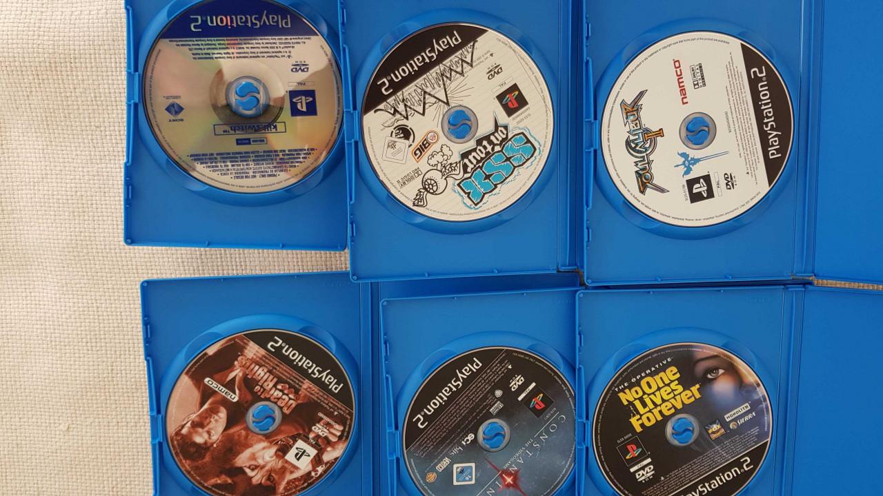 Image article Lot de 6 jeux PS2