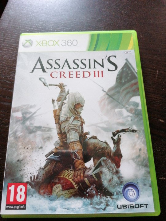 Image article Assassin's creed 3 Xbox 360