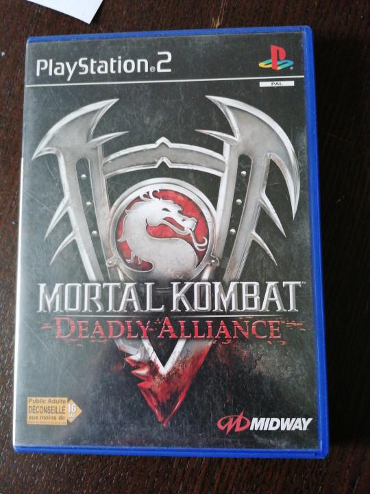 Image article Mortal kombat deadly alliance ps2
