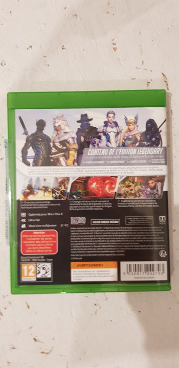 Image article Overwatch légendaire édition