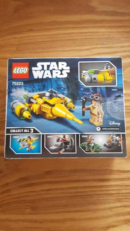 Image article LEGO Star Wars Microvaisseau Naboo Starfighter - 75223