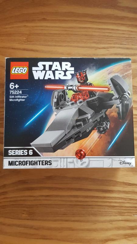Image article LEGO Star Wars Microvaisseau Sith Infiltrator - 75224