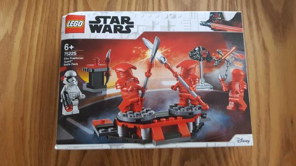 Image article LEGO Star Wars Pack de combat de la Garde Prétorienne d'élite - 75225