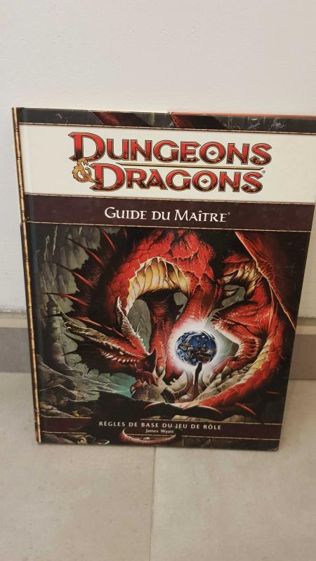 Image article Dungeons & Dragons - Guide du Maitre