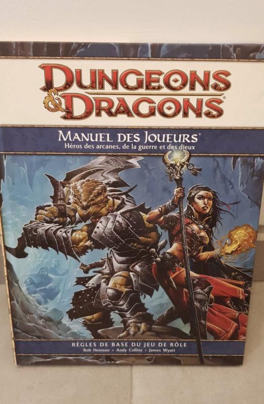 Image article Dungeons & Dragons 4 : Manuel des Joueurs