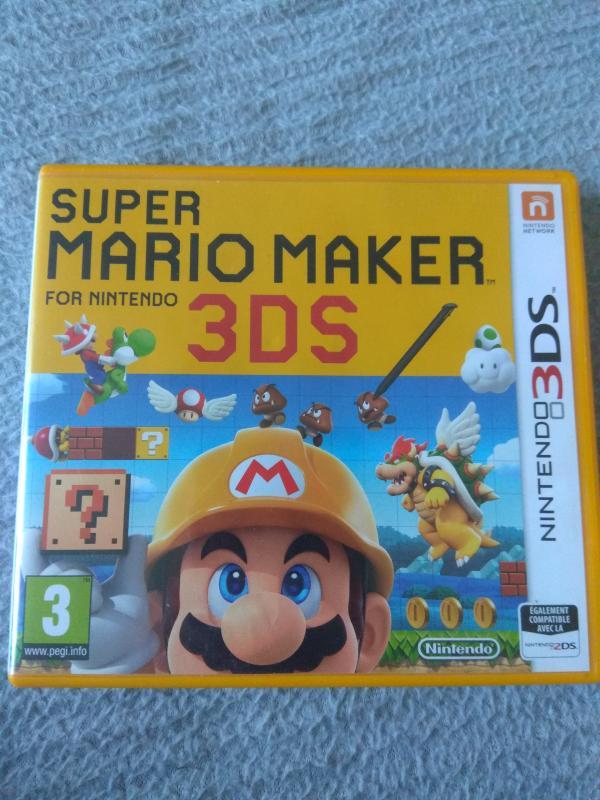 Image article Nintendo 3DS - Super Mario maker - Boitier seul