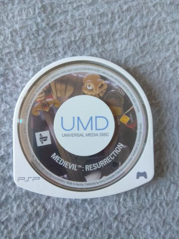 Image article Sony - PSP - Medievil resurrection