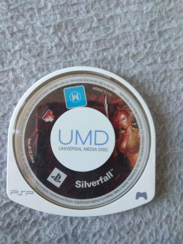 Image article Sony - PSP - Silverfall