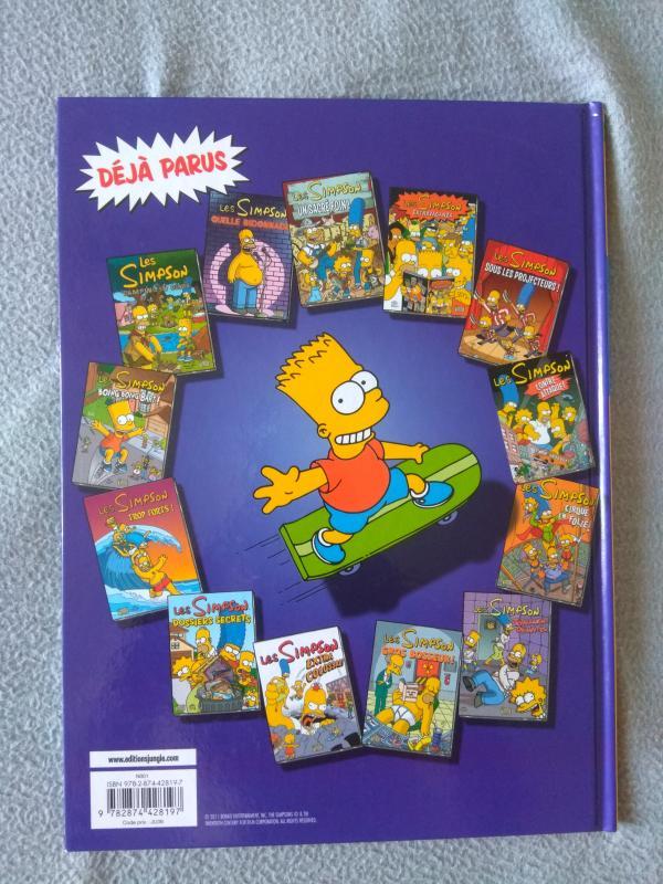 Image article BD - Les Simpson - Trop top pour la télé