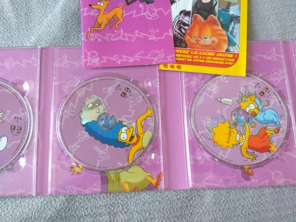 Image article Coffret DVD - Les Simpson - Intégrale - Saison 3