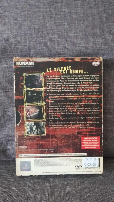 Image article Silent hill 2 edition collector