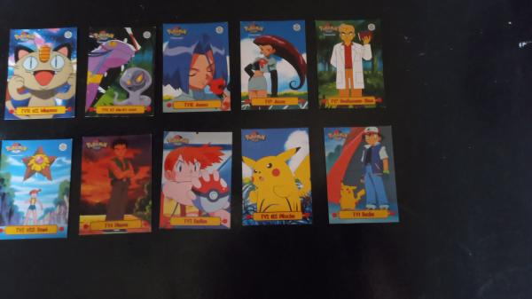 "Image article Cartes Pokémon ""Topps trading cards"" X64"