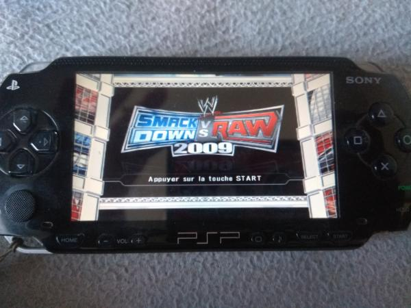 Image article Sony - PSP - WWE Smackdown Vs. Raw 2009