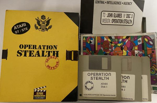Image article Opération stealth ATARI ST