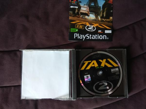 Image article Sony - Playstation 1 - Taxi 2 le jeu