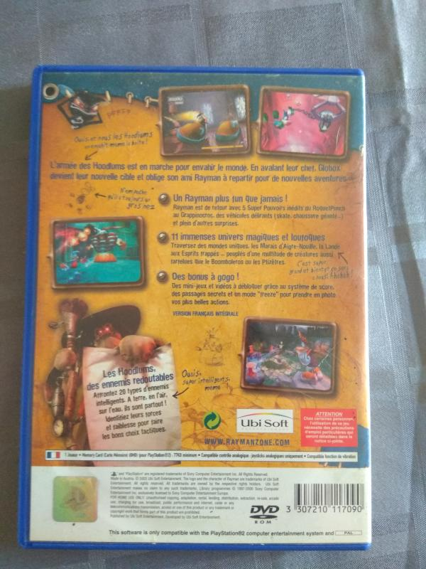 Image article Sony - Playstation 2 - Rayman 3 : Hoodlum Havoc