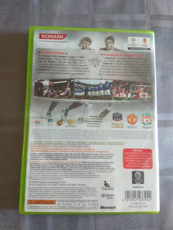 Image article Microsoft - Xbox 360 - PES 2010