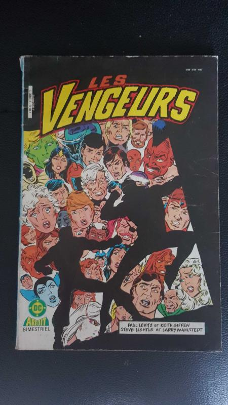 Image article Les Vengeurs DC N°2