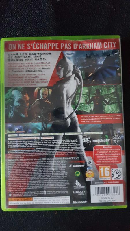 Image article Batman arkham city xbox 360