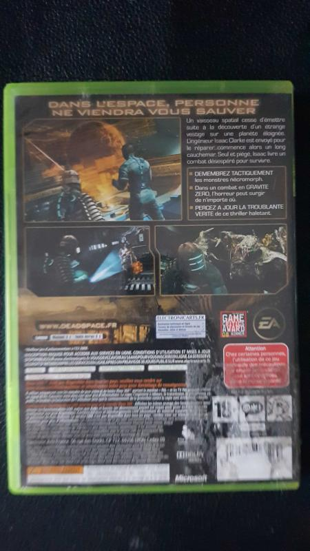 Image article Dead Space xbox 360