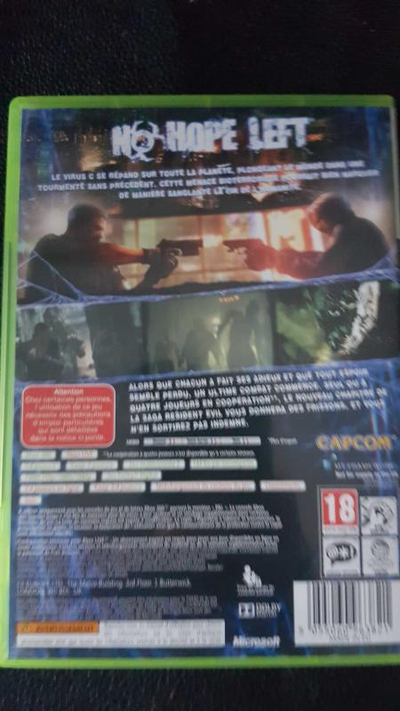 Image article Resident Evil 6 xbox 360