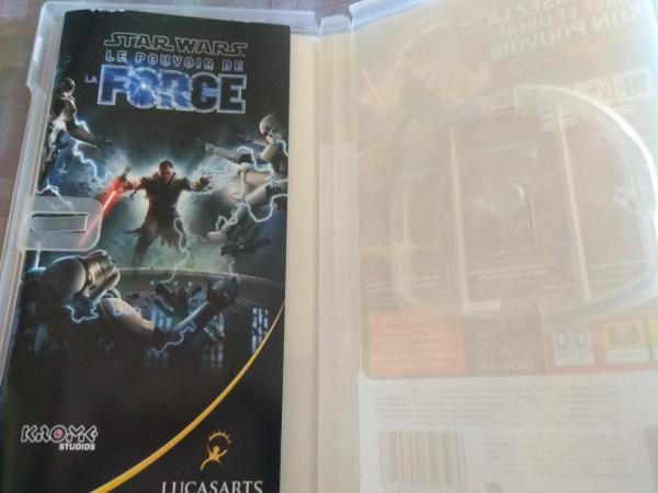 Image article Sony - PSP - Star wars - Le pouvoir de la force