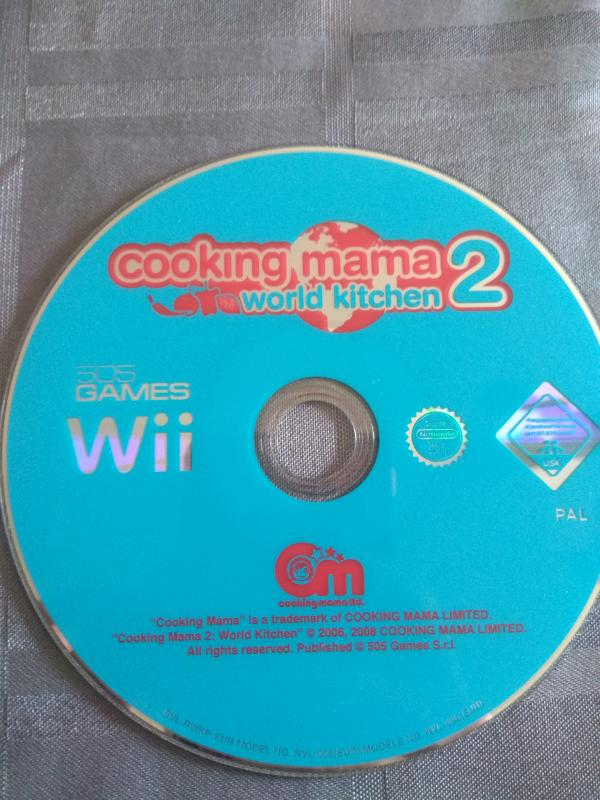 Image article Nintendo - Wii - Cooking mama 2 - World kitchen