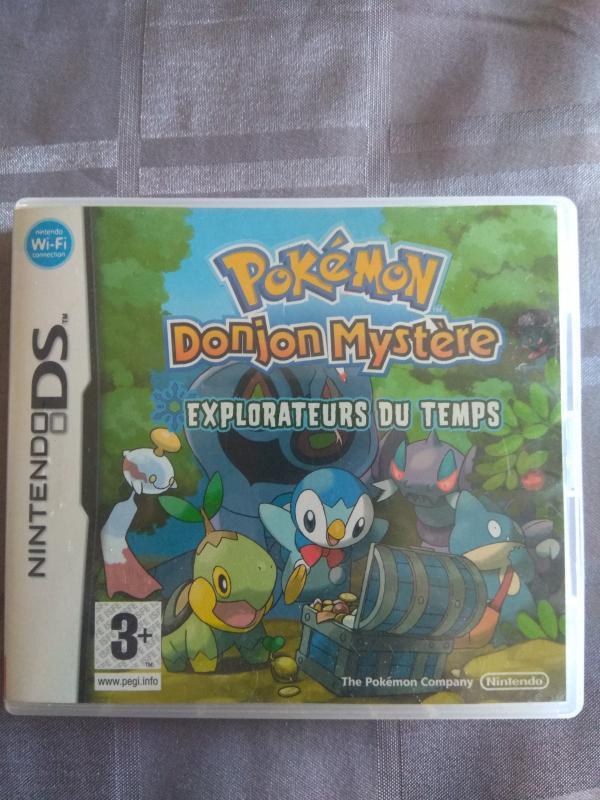 Image article Nintendo DS - Pokémon Donjon mystère - Boitier seul
