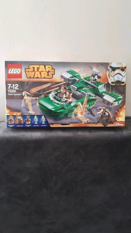 Image article lego star wars 75091 complet