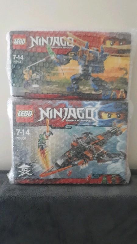 Image article lot de 2 boites ninjago