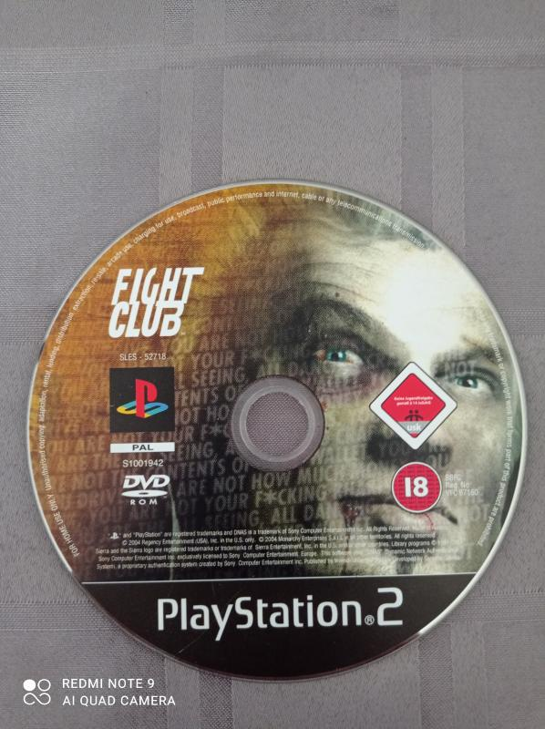 Image article Sony - Playstation 2 - Fight club