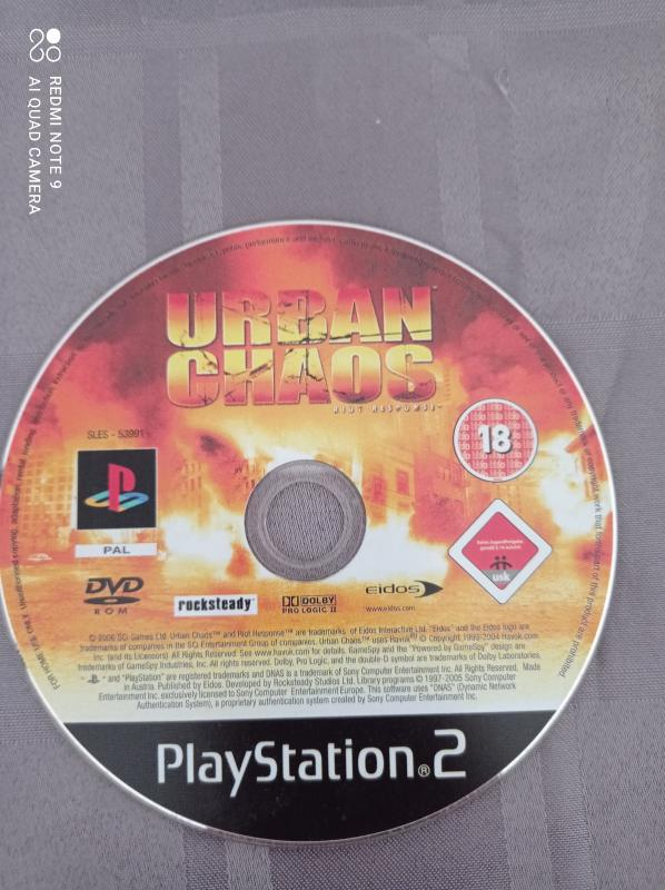 Image article Sony - Playstation 2 - Urban Chaos