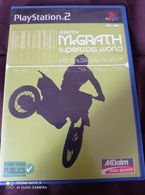 Image article Sony - Playstation 2 - Jeremy McGrath supercross world