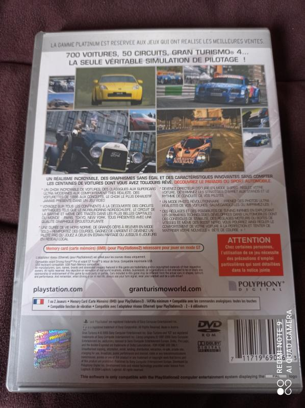 Image article Sony - Playstation 2 - Gran turismo 4