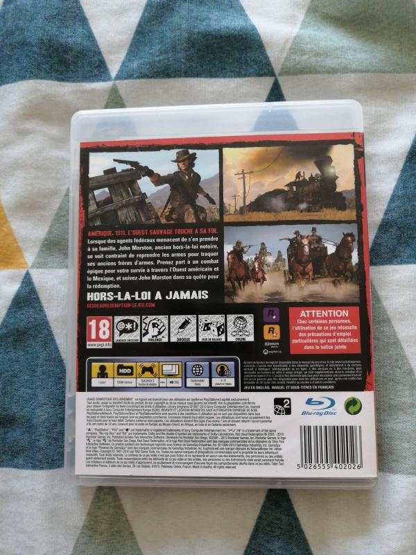 Image article Red Dead redemption ps3