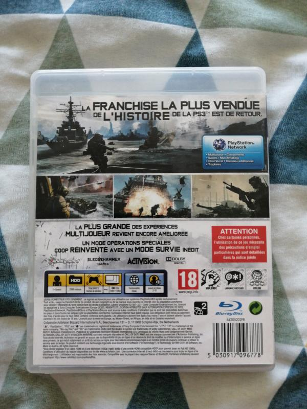 Image article Call of duty Modern Warfare 3 ps3