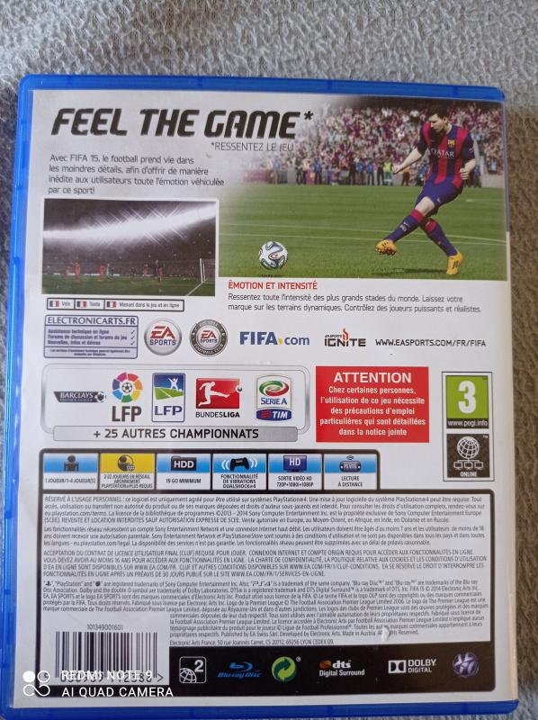 Image article Sony - Playstation 4 - Fifa 15
